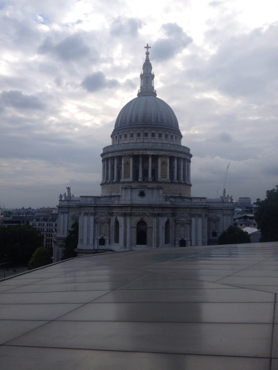 St. Paul's Cathedral from the Rooftop