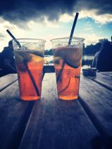 Pimm's in Hyde Park
